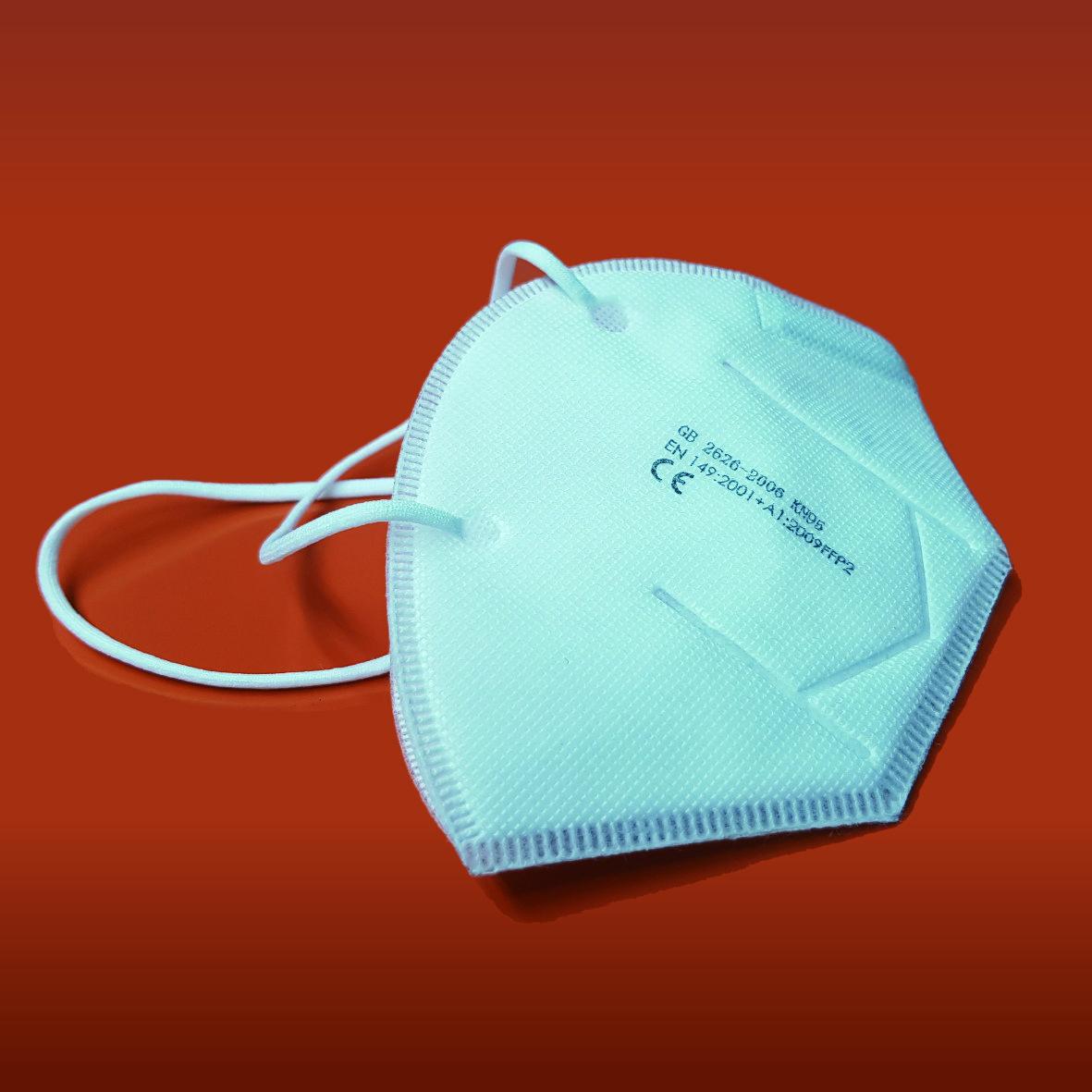 Disposable Respirator Face Mask EN149:2001 FFP2 (Pack 20 ...